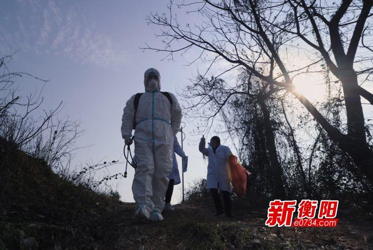 """衡东县疾控中心""""逆行而上""""与病毒正面""""交战"""""""