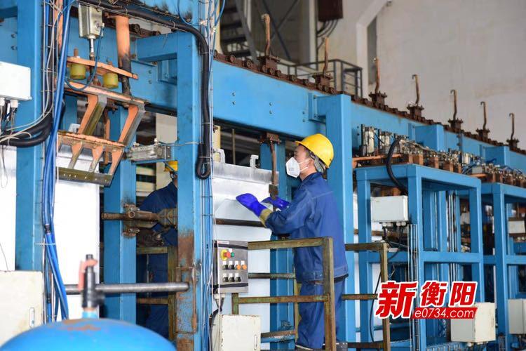 """疫情防控·衡阳在行动:水口山铜铅锌产业基地防疫与复工""""两手抓两不误"""""""