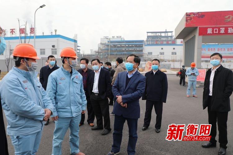 """刘光跃赴常宁督导疫情防控和复工复产 要求落实""""衡十条"""""""