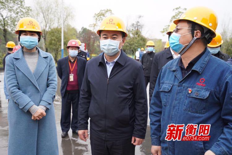 朱健赴常宁市、耒阳市督导疫情防控和经济社会发展工作