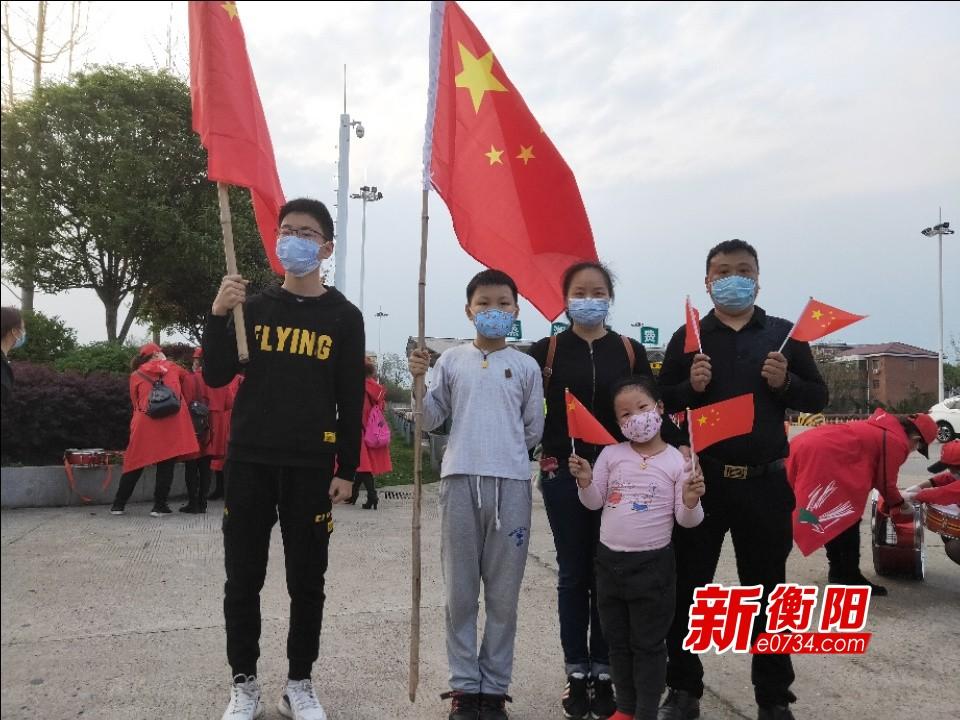 快讯‖衡阳61名援助湖北医疗队队员凯旋!市民自发前往迎接