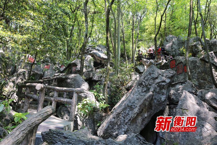 """""""五一""""小长假 文明旅游成中国印山景区一道亮丽的风景线"""