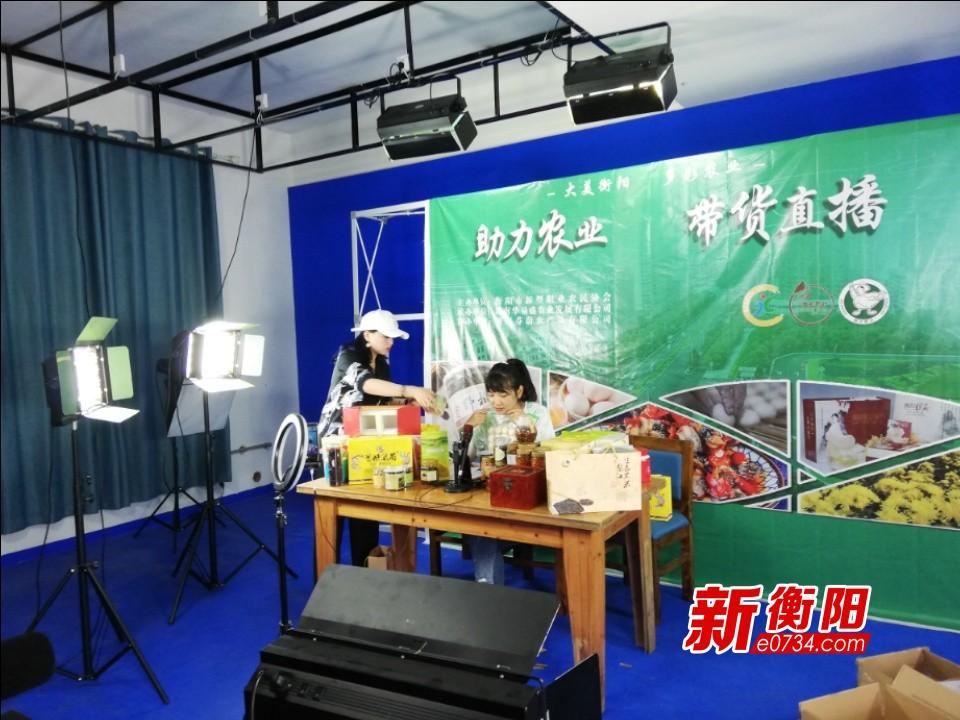 """稳经济.保增长丨网红""""山里姑姑""""直播带货 助力衡阳农产品销售"""