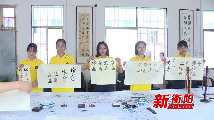 """衡南县松江镇全方位、多渠道开展禁毒宣传""""六进""""活动"""