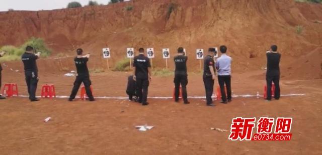 """全警实战""""大练兵"""" 常宁公安组织开展实弹射击训练"""