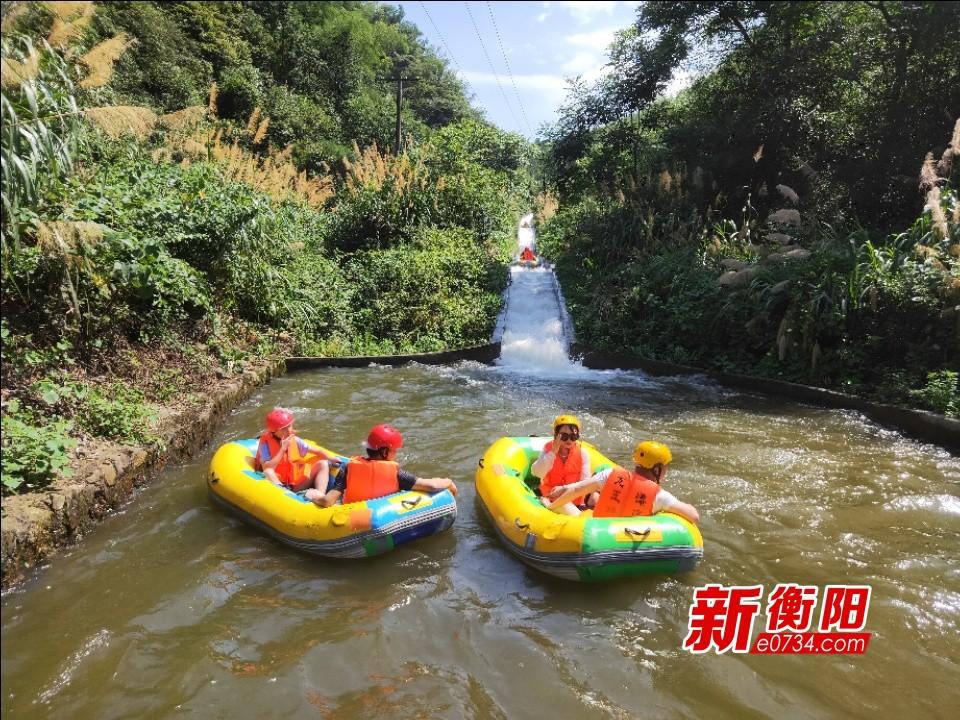 """假期去哪儿:""""三伏天""""去衡阳县龙王峡漂流避暑吧!"""