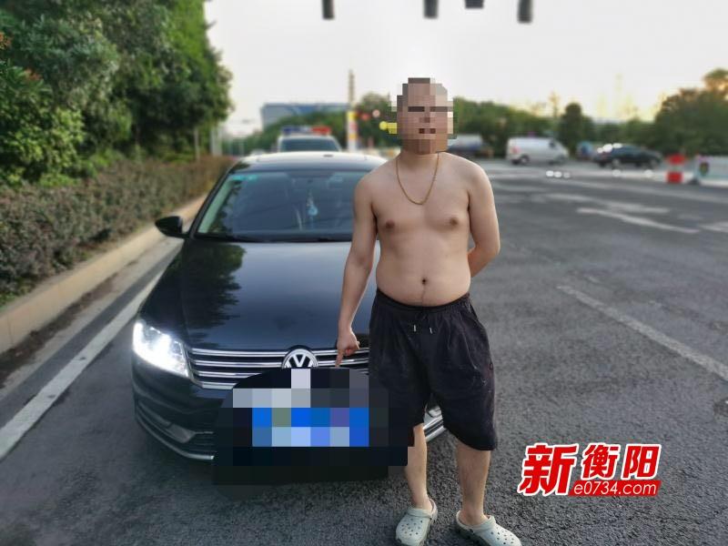 伪造车牌只为方便闯红灯送豆腐 雁峰交警查获部督假牌车
