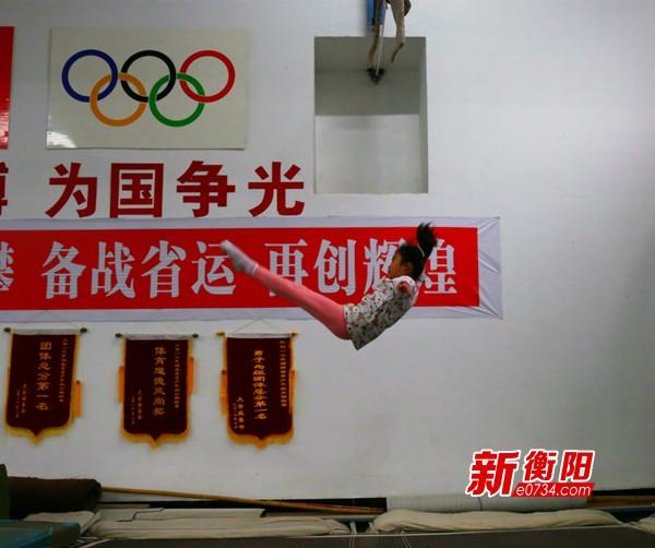喜迎省运会:衡阳跳水小将积极备战 力保领先位置