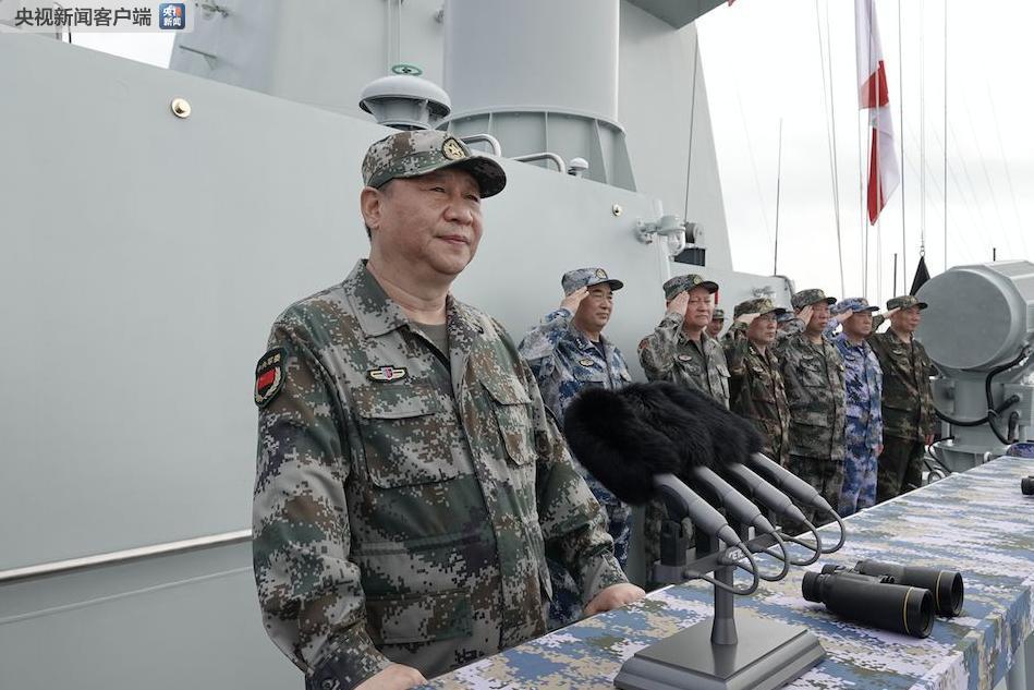 习近平:深入贯彻新时代党的强军思想 把人民海军全面建成世界一流海军