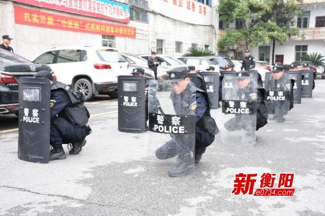 平安衡阳·我的故事|梁晓智巡逻大街小巷守护安宁