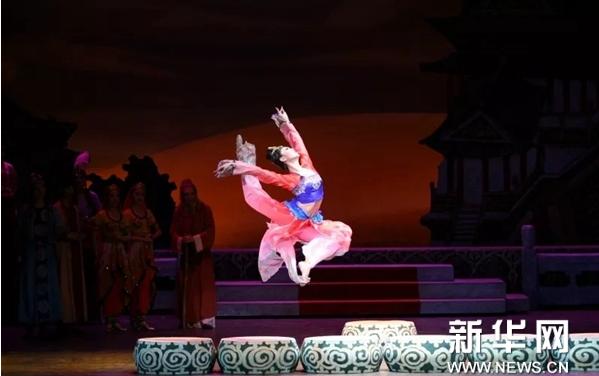 """舞剧《丝路花雨》亮相""""相约北京"""""""