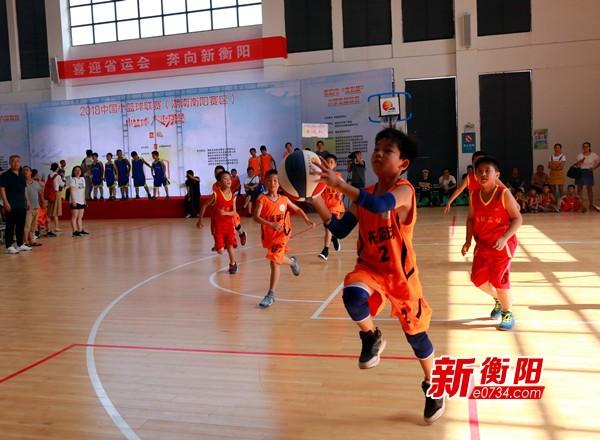 喜迎省运会:中国小篮球联赛衡阳赛区火热启动