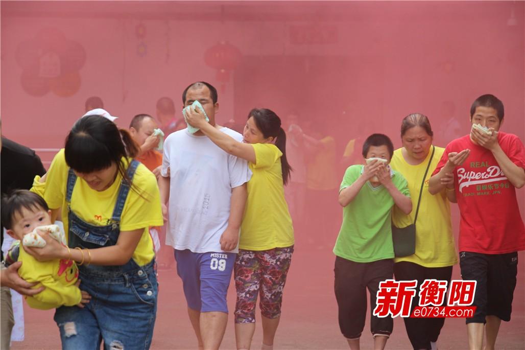 衡阳市社会福利院组织开展消防培训和疏散演练