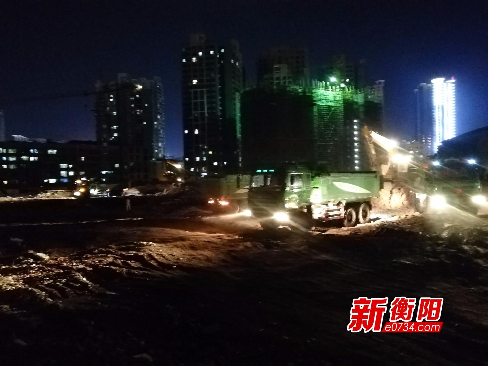 环保督查:衡阳城区两工地渣土运输不合规被当场叫停