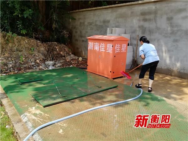 环保督察整改:珠晖区加强垃圾收集站的管护力度