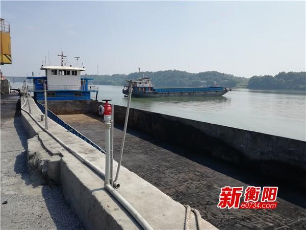 环保督察整改:石鼓区江霞码头粉尘污染得到解决