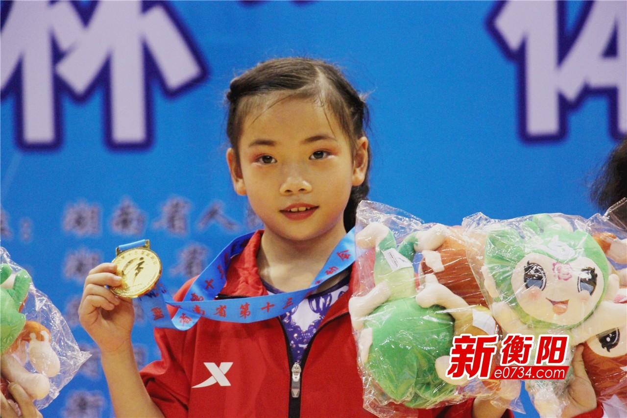 省运最前线:体操比赛第三天 衡阳队斩获1金2银