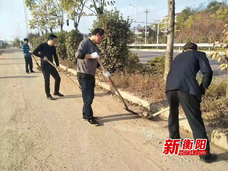 蒸湘区环卫局开展主题党日活动 体验一线服务工作