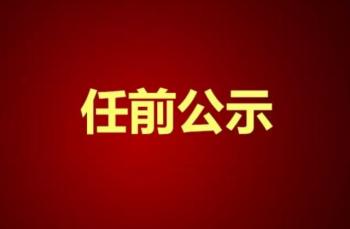 衡阳12名拟任职干部任前公示