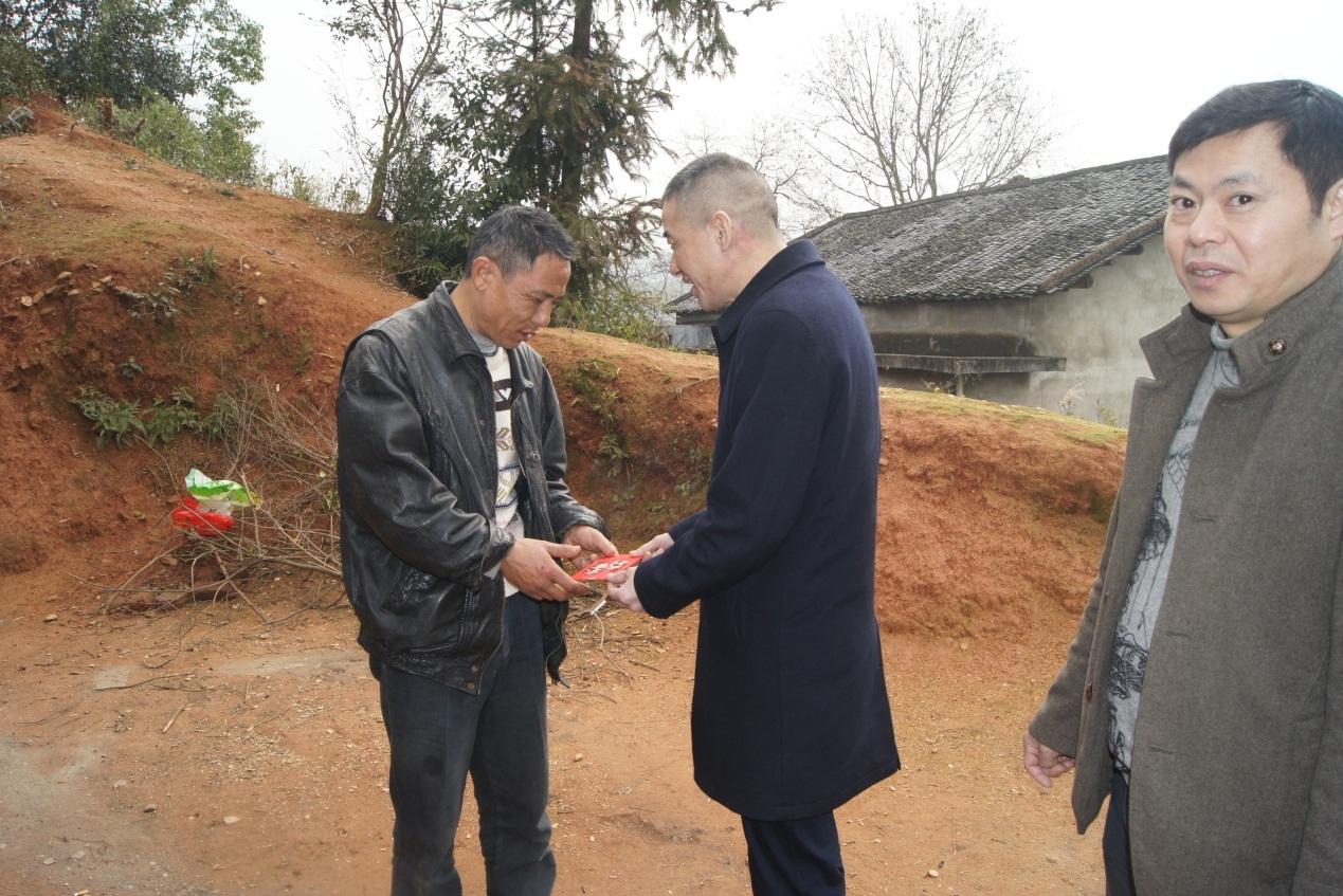 衡阳分公司总经理刘辉一行深入扶贫一线