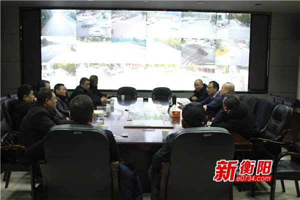 2019新年新征程:衡阳城管执法局收心聚力干劲足