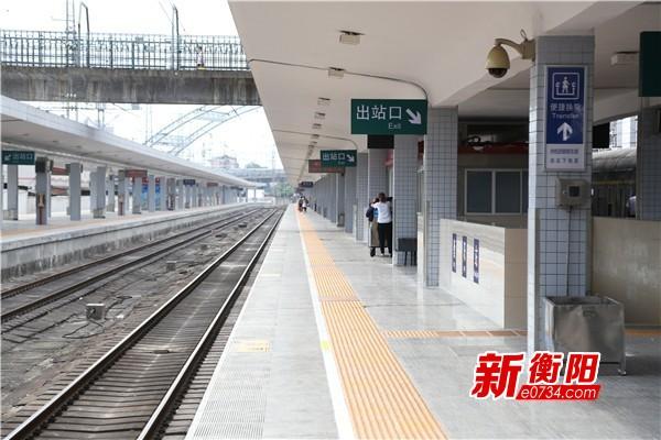 衡阳铁路 迎来节后客流高峰 市民出行请提前购票