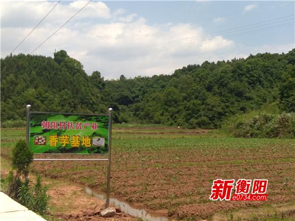 衡南县委组织部驻村扶贫工作队志智双扶助脱贫