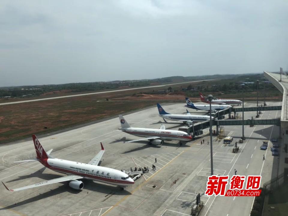 注意!3月底南岳機場將執行夏秋季航班時刻表