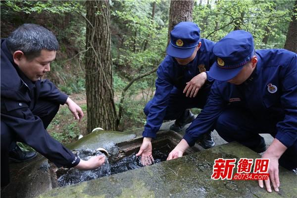 我们的节日·清明:南岳区开展消防演练严防山火