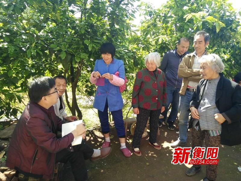 記者隨暗訪組突擊檢查衡陽農村人居環境整治情況