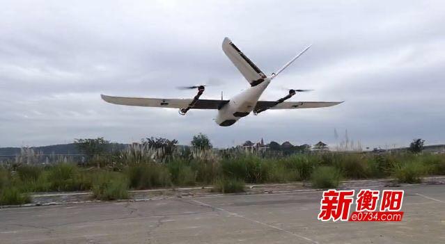 高質高效 耒陽首次使用無人機開展第三次國土調查