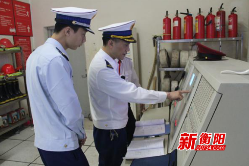 """蒸湘大隊:護航""""五一""""   不漏過一個消防安全死角"""
