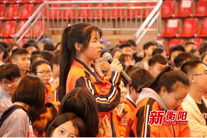 """纪念""""五四"""":衡阳市直定向选调生宣讲走进常宁"""