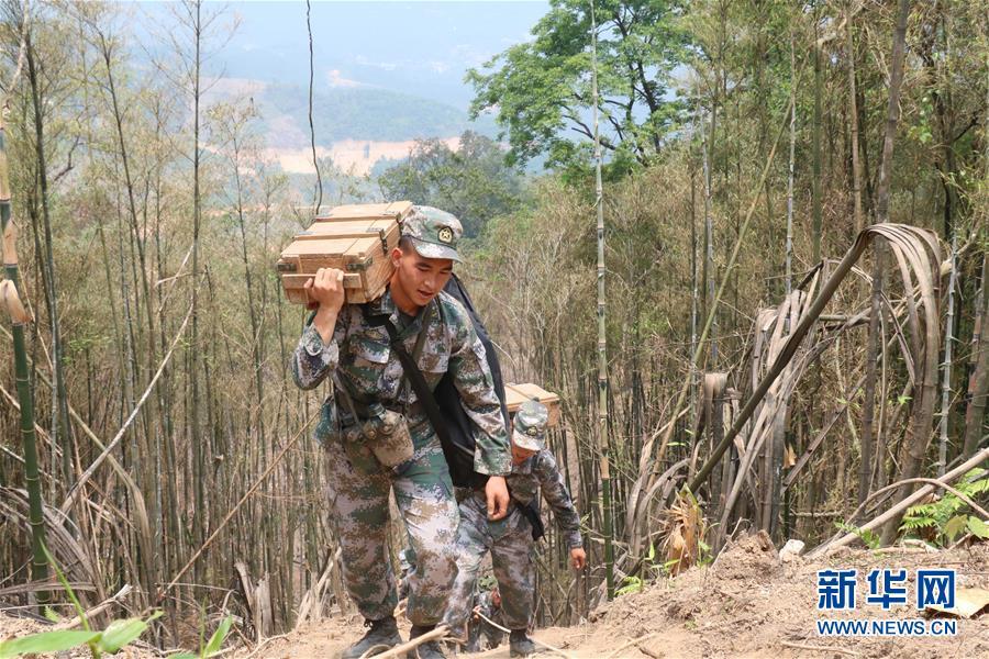 (时代先锋·图文互动)(1)新时代最可爱的人——记陆军某扫雷排爆大队英雄战士杜富国