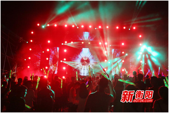 衡阳首届国际电音节放肆来电 引爆双水湾夏日狂欢