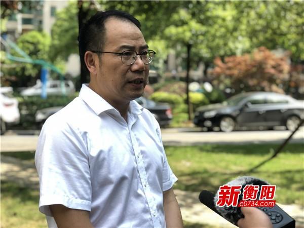 衡阳市城管局局长谢茂文:创卫有信心 创则必成