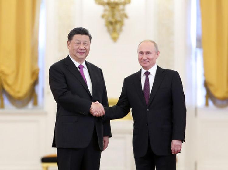 重要時刻,習主席和普京總統把中俄關系領進新時代