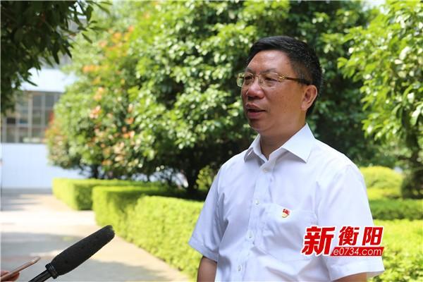 """石鼓区区长刘浪:常态化""""创卫"""" 长效性""""保卫"""""""