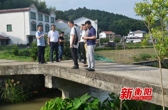 衡山县:把能仁港打造成河畅岸绿景美的样板河