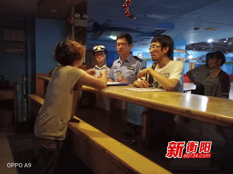 珠暉大隊聯合多部門開展文化場所消防安全檢查