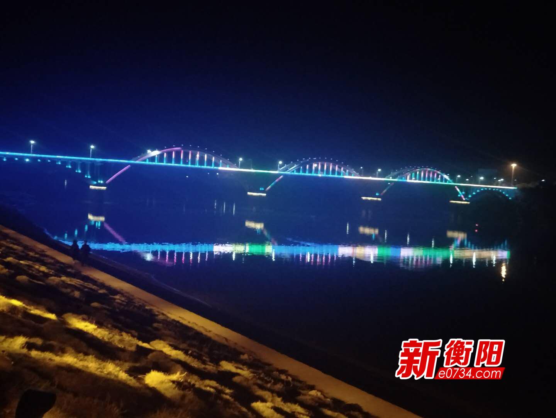 衡南不斷提升縣城亮化水平 確保亮燈率98%以上