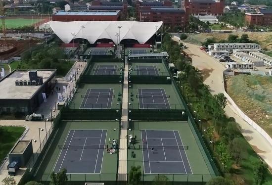 瞰·衡陽之博雅網球公園