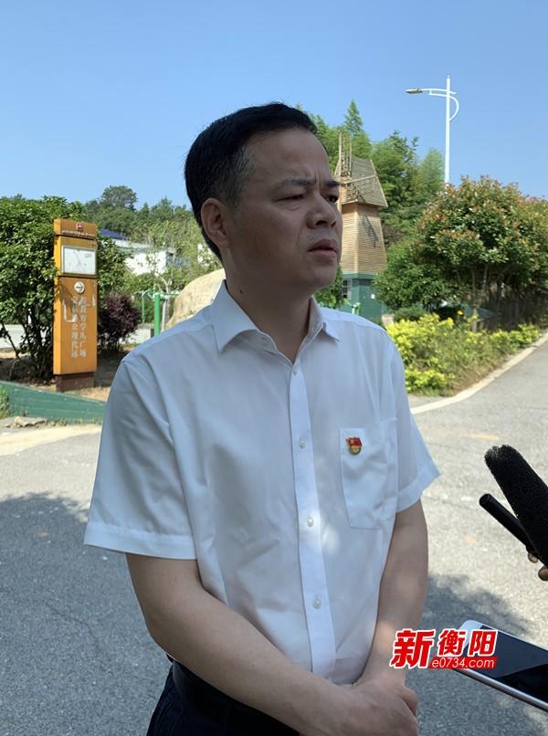 衡山縣委書記尹培國:堅決打贏農村人居環境整治攻堅戰