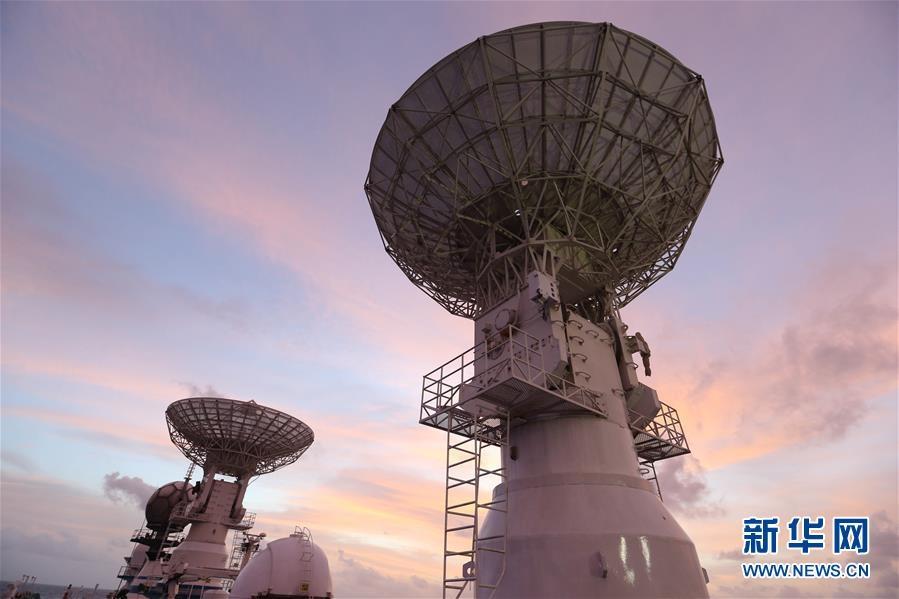 遠望3號船順利護送第46顆北斗導航衛星入軌