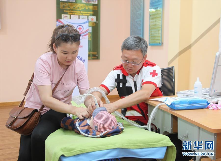 中國紅十字援外醫療隊在蒙古國開展新一期人道救治行動