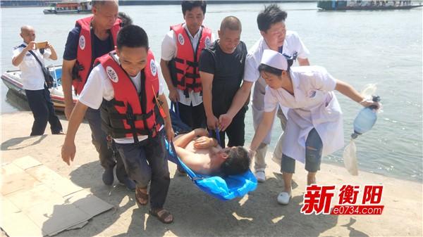 耒阳市举行水上交通安全综合应急救援预案演练