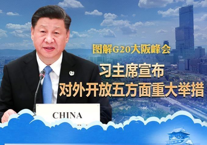 圖解G20大阪峰會:習主席宣布對外開放五方面重大舉措