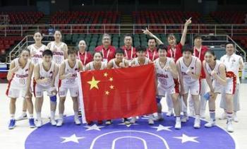 中國女籃挺進大運會八強創造歷史 男籃首戰告負