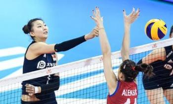 世界女排聯賽:中國將與意大利爭奪最后一個四強席位