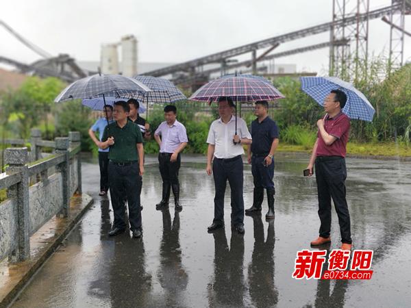 松木经开区18家企业遭遇内涝 未影响正常生产